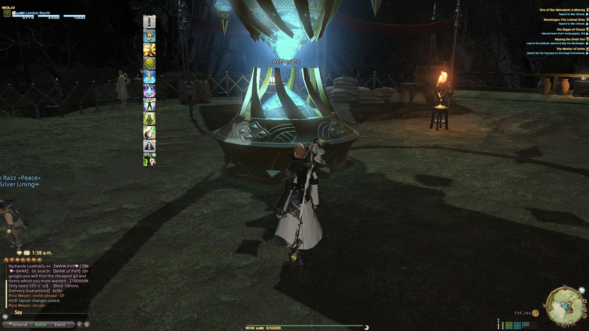 FFXIV: Hotbar Setup   Final Fantasy Forums
