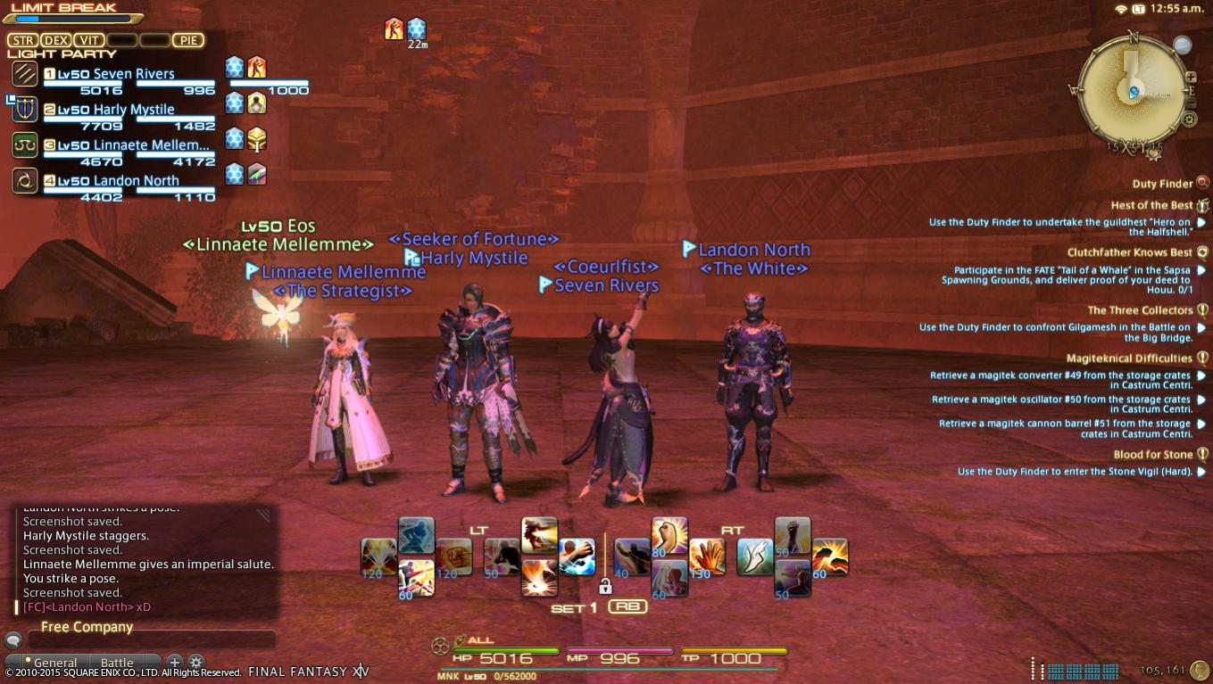 FFXIV: Hotbar Setup | Final Fantasy Forums